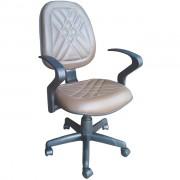 Cadeira Executiva Realme Alta Giratória Couro Ecológico Marrom