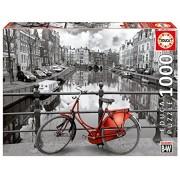 Educa Amsterdam Puzzle (1000 Piece), Black/White