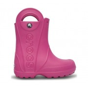 Crocs Handle It Rain Boot Junior, Rosa, 8
