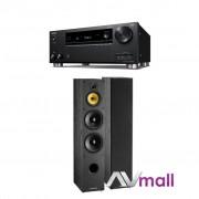 Pachet Receiver AV Onkyo TX-RZ720 + Boxe Davis Acoustics Dhavani