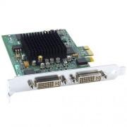 Matrox G550 Passief grafische kaart (PCI-E, 32 MB DDR2 geheugen, Dual DVI & VGA, 1 GPU)