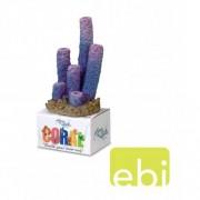 EBI AQUA DELLA CORAL MODULE M stove pipe sponges purple 5,5x5,5x12,5cm