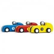 Le Toy Van 3-Pack Pull Back Racerbilar