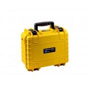 B&W Hardschalenkoffer Type 3000, geel
