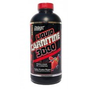 NUTREX Liquid L-Carnitine 3000 Berry Blast 473 ml (32 srvs)