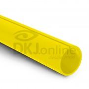 Perfil C 7/8 (23 mm) PS Amarelo barra 3 metros