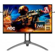 AOC AG273QZ Gaming-Monitor (2560 x 1440 Pixel, QHD, 0,5 ms Reaktionszeit, 240 Hz), Energieeffizienzklasse C