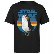 Star Wars Porg Men's T-Shirt - Black - S - Black