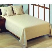 Cuvertură de pat dublu Valentini Bianco YT014