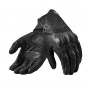 REV'IT! Motorradschutzhandschuhe, Motorradhandschuhe kurz REV'IT! Fly 2 Sommerhandschuh schwarz L schwarz