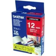 Brother Tape Brother TZe 435 12mm vit på röd