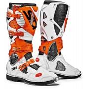 Sidi Crossfire 3 Motocross Boots White Orange 46