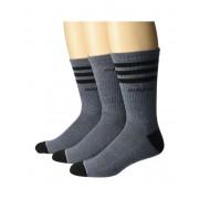 adidas 3-Stripe Crew Socks 3-Pack OnixLight Onix MarlBlackLight OnixBlack