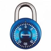 Kombinační visací zámek 1530EURDCM - Master Lock - modrý - 48mm