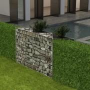 vidaXL Gabion Basket/Planter/Raised Vegetable Bed Steel 120x30x100 cm