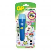Lanterna Discovery GP, 1 x AAA, LED, Albastru