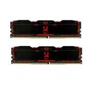 Memorie Goodram IRDM X Black 16GB DDR4 2666MHz CL16 Dual Channel Kit