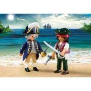 Playmobil Duo Pack Pirata y Soldado