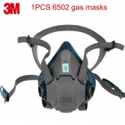 3M 6502 respirator mask Genuine security high quality respirator face mask With 6000/2000 series Anti-virus dust mask
