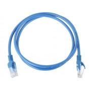 NTR CAB81 UTP Cat6e patch kábel 1m - kék
