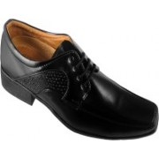 Action Synergy Fashion Line Pu4227 Lace Up Shoes For Men(Black)
