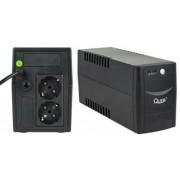 UPS Quer Micropower, 800VA/480W, 2 x Schuko (Negru)