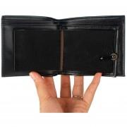 EB Truco De Magia Flame Fire Wallet Mago Truco Wallet Etapa Street Show Wallet - Negro