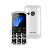 "Cellulare Senior Phone TLF Sileno 31 2.2 "" Italia BIanco, Nero 300031-WH"