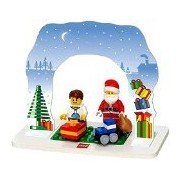 Lego Santa Set, Multi Color