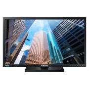 """Samsung Monitor Professionale 24"""" Samsung Ls24e65uplc Se650 Led Full Hd Ergonomico Varie Regolazioni Hub Usb Hdmi Altoparlante Integrato Refurbished Nero"""