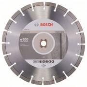 Диск диамантен за рязане Expert for Concrete, 300 x 20,00+25,40 x 2,8 x 12 mm, 1 бр./оп., 2608602560, BOSCH