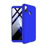 GKK 360 Protection telefon tok hátlap tok Első és hátsó tok telefon tok hátlap az egész testet fedő Xiaomi Mi Max 3 kék