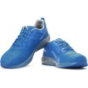 Puma Flare Stripes Running Shoes For Men(Blue)
