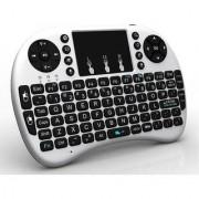 Wireless Touchpad Mini Keyboard Bluetooth Wireless Tablet Keyboard (White)