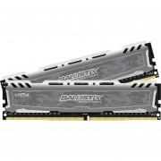 Crucial Ballistix Sport LT 16GB Kit (8GBx2) DDR4 2400 MT/s (PC4-19200) DIMM 288-Pin Desktop Memory BLS2K8G4D240FSB