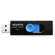 USB Kľúč 128GB ADATA UV320 black/blue (USB 3.1)