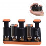 Span Ajustable Tensor Multi - Dedo Dedo Palm Ejercitador Guitarra Piano Trainer Mfx5 (naranja)