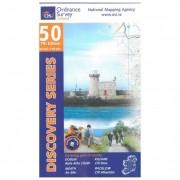 Ordnance Survey Ireland Dublin / Kildare / Meath / Wicklow Carta escursionistica