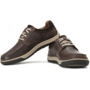 Clarks Reeder Place Corporate Casuals For Men(Brown)
