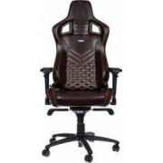 Scaun Gaming Noblechairs Epic Real Leather Maro-Bej