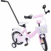 Bicicleta copii MyKids Toma Exclusive 1203 Pink