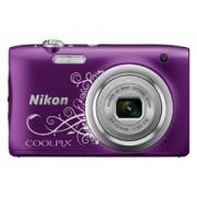 Nikon Coolpix A100 lineart lila digitális fényképezőgép