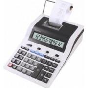 Calculator cu banda Rebell PDC 30 cu 12 digits 255 x 190 x 70 mm- alb-negru