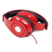 "x-MHS-DTW-R Gembird Stereo slusalice sa mikrofonom ""Detroit"" red (1x3,5mm) FO"