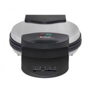 Tefal Ultra Compact WM 310D - Gaufrier - 1000 Watt - noir mat/inox
