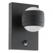 Eglo 96021 SESIMBA 1 nástěnné exteriérové LED svítidlo se senzorem 7,4W=560lm 3000K IP44