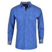 Spazio Pintoorah Long Sleeved Shirt Navy 26-3835