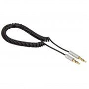 Kabl audio 3.5mm M/M spiralni Hama 93775, 1m