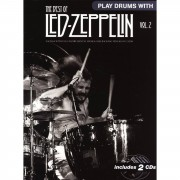 Wise Publications Play Drums With: Led Zeppelin 2 inkl. CD