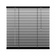 Horizontale jaloezie aluminium 25 mm - zwart - 80x180 cm - Leen Bakker
